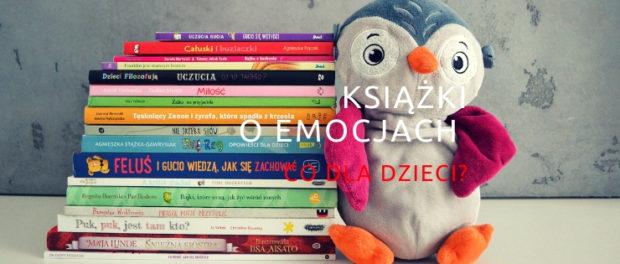 książki o emocjach co dla dzieci