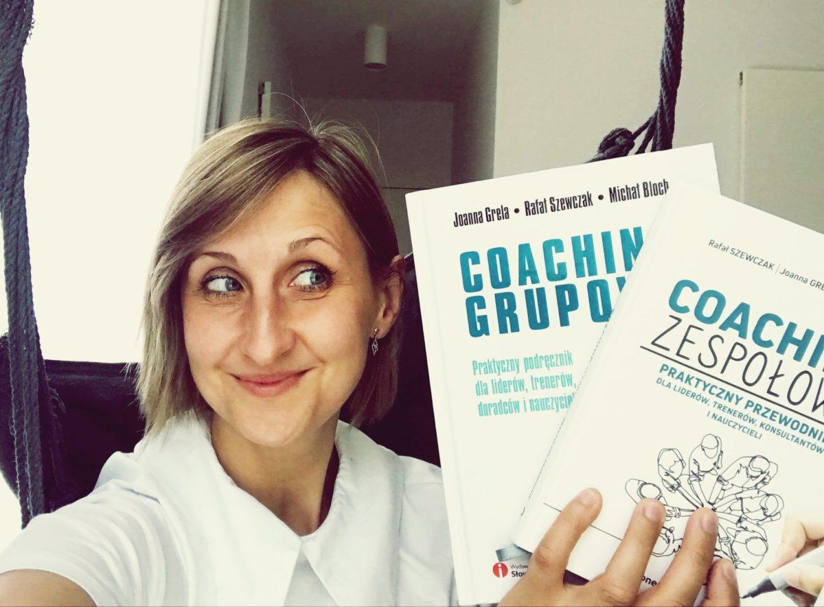jak napisać książkę coaching zespołowy coaching grupowy joanna grela